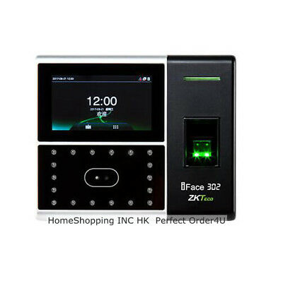 Usa Zkteco Biometric Facefingerprint Attendance Time Clock Access Control Top