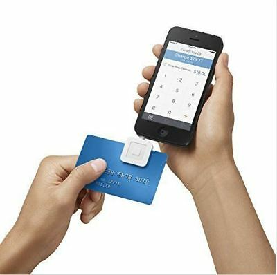 Square Mobile Magnetic Credit Card Reader For Iphone Ipad Android