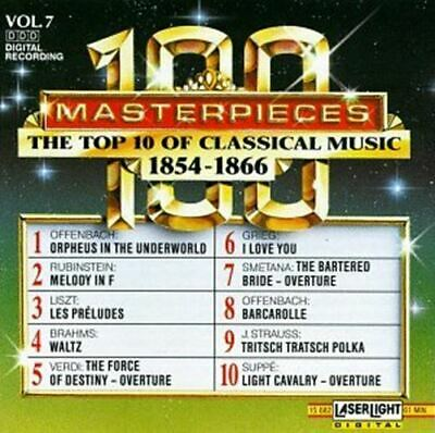 100 Masterpieces: The Top 10 of Classical Music - Vol. 7 - 1854-1866 [Audio CD]  Top 10 Classic Music