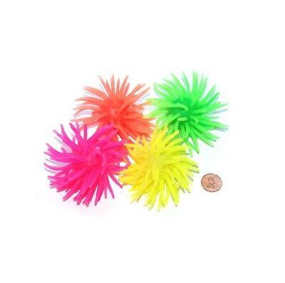 (4) Mini Wurm Bälle Squishy Drück Taktile Stressabbau für Kinder