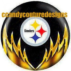 20-WATER-SLIDE-NAIL-ART-DECALS-TRANSFERS-STEELERS-5-8-th-inch