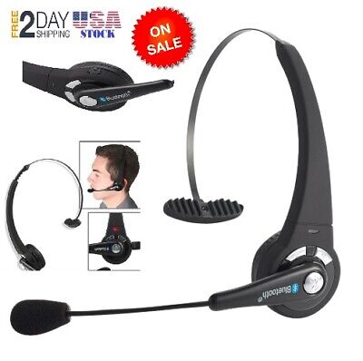 Wireless Blue Parrot Headset Truck Driver Noise Cancelling Bluetooth Headphones ()