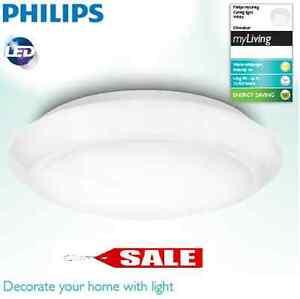 6 st ck philips led deckenleuchte 16w 75w deckenlampe badlampe lampe wandlampe. Black Bedroom Furniture Sets. Home Design Ideas