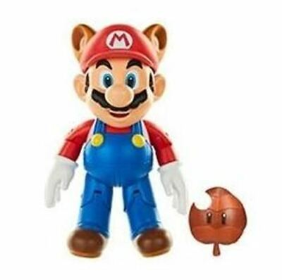 World of Nintendo 4-Inch Action Figure - Racoon Mario (Mario Racoon)