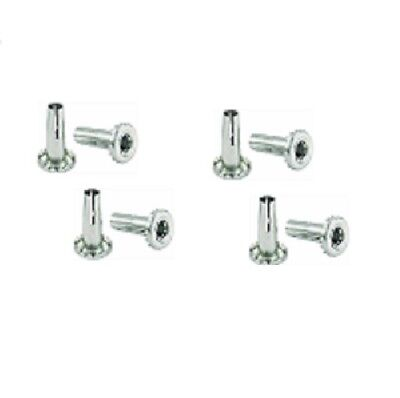 Eight Shepherd Caster Stem Caster Mounting Sockets