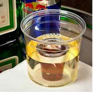 Jager Bomb Clear Shot Glass Cup Chaser Jagermeister Disposable Party Games BBQ