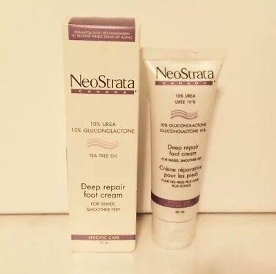 Neostrata Urea Deep Repair Foot Cream With Tea Tree Oil - 1.7 Oz / 50ml