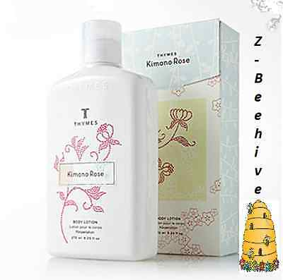 Thymes Kimono Rose Perfumed Body Lotion Jumbo 9.25 fl oz. New in Box Moisturizer