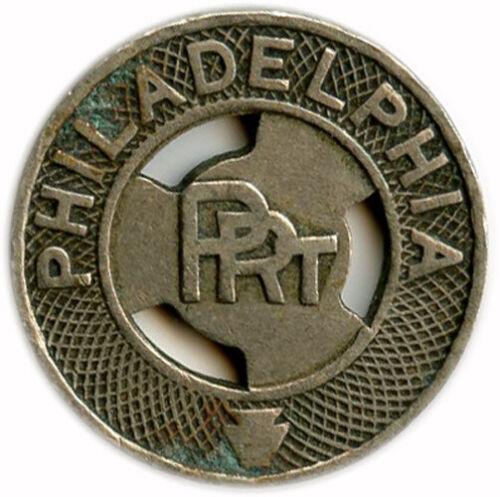 1924 Philadelphia PRT Philadelphia, Pennsylvania PA One Fare Transit Token