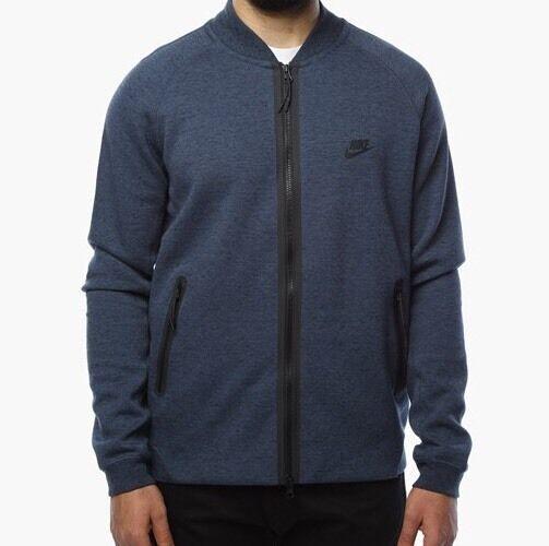 nike veste tech fleece varsity mens jacket blue size s eur 89 00 picclick fr. Black Bedroom Furniture Sets. Home Design Ideas