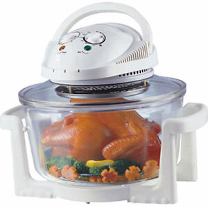 NEW 17L CONVECTION WAVE OVEN MICRO INFRARED HALOGEN TURBO FAN FLAVOR COOKER
