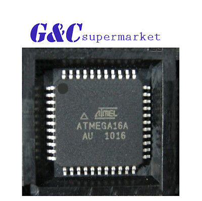 25pcs Ic Atmega16a-au Tqfp-44 Atmel New Good Quality