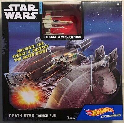 Star Wars Death Star Trench Run - Hot Wheels Starships 4+