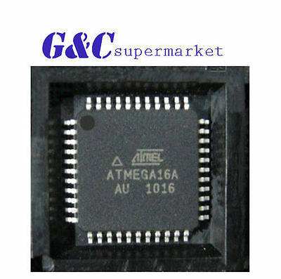 5pcs Ic Atmega16a-au Tqfp-44 Atmel New Good Quality