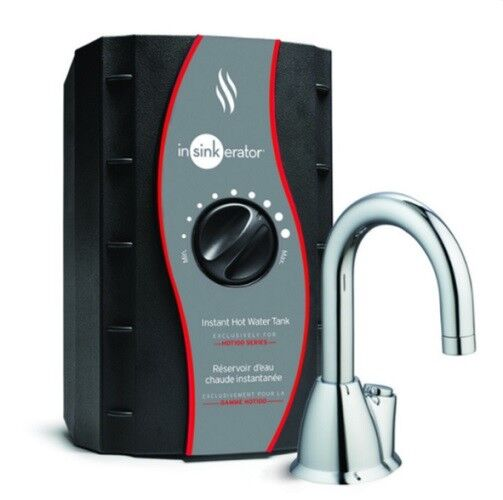 InSinkErator HOT100 Instant Hot Water Dispenser and Tank