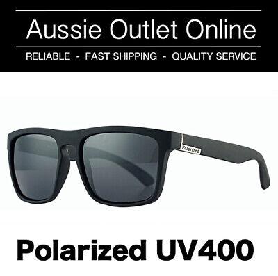 Retro Polarized Sunglasses UV400 Silver - FREE Hard Case - Aussie Outlet Online