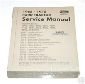 ford 2000 3000 4000 5000 7000 tractor service shop manual. Black Bedroom Furniture Sets. Home Design Ideas