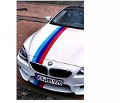 Three color 1 meter BMW Car personality decoration Waist Line Stickers