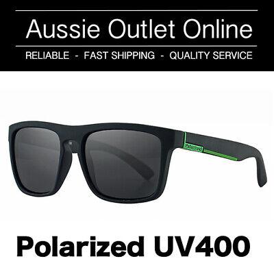 Retro Polarized Sunglasses UV400 Green - FREE Hard Case - Aussie Outlet Online