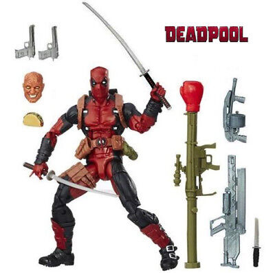 "6"" Deadpool Figure Marvel Legends X-Men Action Figure Toys In Stock Gift UK"