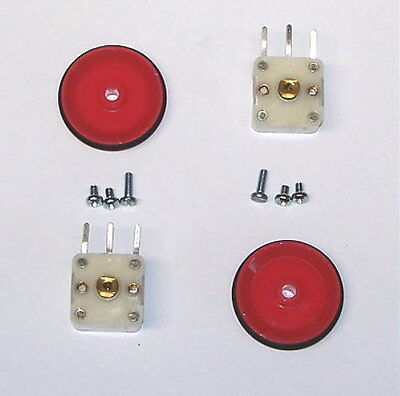 2 Pcs Variable Tuning Pv Capacitor Am Transistor Radio Double Section Cap Red