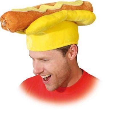 Hut Hotdog zum lustigen Kostüm an Karneval Fasching - Lustigen Hut