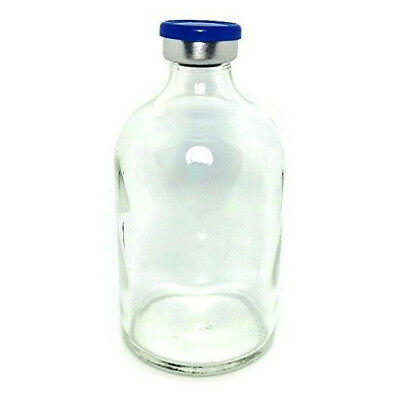 100ml Sterile Clear Glass Vial Qty 5 - Free Shipping