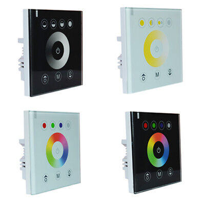 Glass Screen Touch Panel Switch Controller Light Dimmer for LED Strip DC 12V Glass Touch Controls