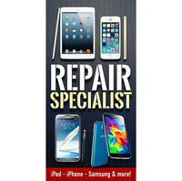 ★REPAIR CENTER★SAMSUNG, iPHONE, iPAD, SONY, LG, NEXUS, HTC,MORE★