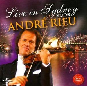 Andr' Rieu Live In Sydney 2009 (CD, Dec-2009, 2 Discs, NEW