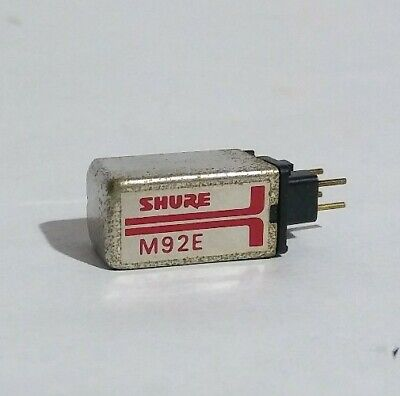 Shure M92E P-Mount Turntable Cartridge (No Stylus) Tested/Working P-mount Turntable Cartridge