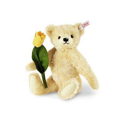 Steiff Teddybär Tim 036767 inkl. Zertifikat Nr. 165 aus Mohair Teddy Neu & Ovp