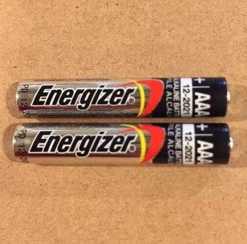2 Energizer E96 Aaaa Bulk Alkaline Batteries 1.5v Replaces E96, Lr8d425, Mn2500