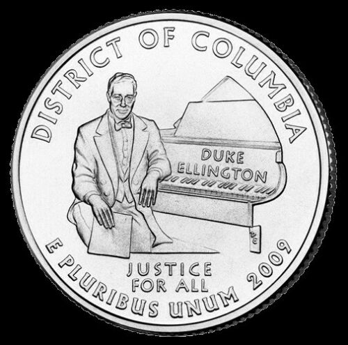 "2009 P District of Columbia Territorial Quarter New U.S. Mint ""BU"" Coin D.C."