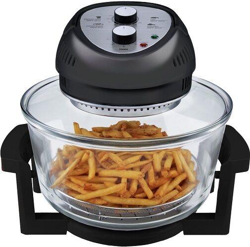 Big Boss Air Fryer 1300-Watt, 16-Quart, Black- As Seen on TV, Brand New!