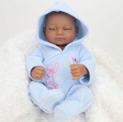 "US 11"" Real Looking Lifelike Reborn Boy Dolls Silicone Vinyl Handmade Baby Gift"