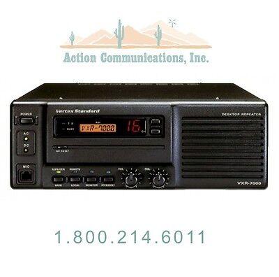 New Vertexstandard Vxr-7000ud Uhf 450-480 Mhz 50 Watt 16 Ch Desktop Repeater