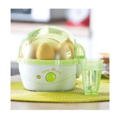 Exclusiv 350 Watt Sunny Morning Eierkocher, für 1 bis 7 Eier, Trockengehschutz