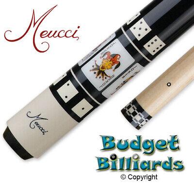 Meucci HOF-4 Gambler Joker Pool cue w/ Black Dot Shaft & Fre