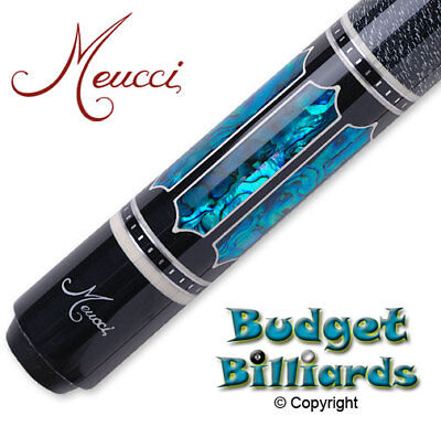 Meucci UP-4 Blue Pool cue & Free Hard Case - Butt Only - NO