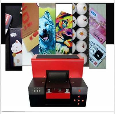 A3 Uv Flatbed Printer Color Printing Of Any Flat Material M