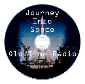 Journey Into Space (OTR) Old Time Radio Science Fiction (Sci-Fi ) mp3 CD
