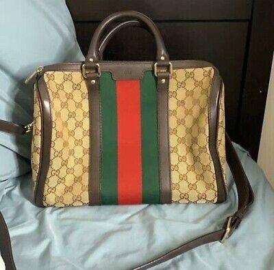 Authentic vintage Gucci boston bag