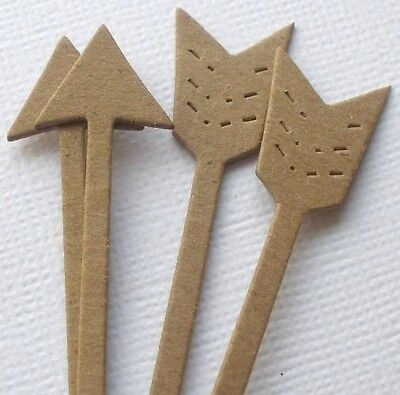 {5}  *LONG STEM ARROWS* Valentine Arrow - Bare Chipboard Die Cuts - 4 3/8