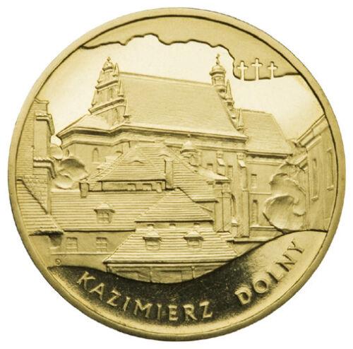 2008  POLAND NORDIC GOLD 2 zl - KAZIMIERZ DOLNY