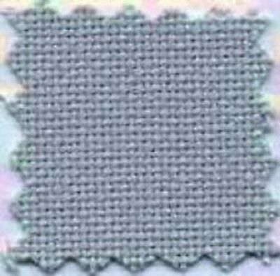 1y 28ct DOVE GREY Monaco Evenweave Linen Charles Craft Cross Stitch Fabric 36x60