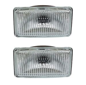 BMW-E12-E21-E28-E30-Bosch-Fog-Light-Lens-Set-L-R-140mm