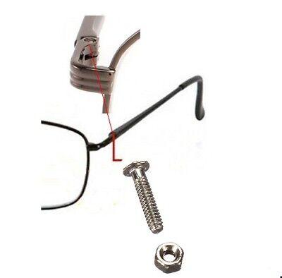 Brillenschrauben, Brille Schrauben Schraube Gestell inkl. Muttern 24-Set