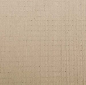 New light beige polyester/Spandex knit fabric 1.2 m x 62 inches