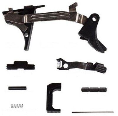 Glock 43 Complete Lower Parts 9-MM LPK SS-80 Poly-mer Percent Kit OEM PF-9